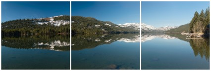 Morning Reflections, Donner Lake