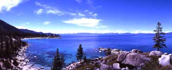 Summer Blues East Shore Lake Tahoe