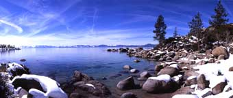 Winter's Bliss, East Shore Lake Tahoe.