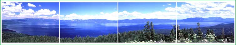 Summer Panorama From Ellis Peak