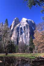Cathedral Cliffs Yosemite Valley